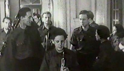 Szenenphoto: Johann Sebastian Bach, Deutsche Demokratische Republik (DDR) 1950.  Alle Rechte vorbehalten