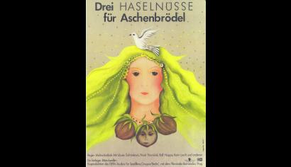 Szenenphoto: Drei Haselnüsse für Aschenbrödel, Deutsche Demokratische Republik (DDR), Tschechoslowakei 1973. DREI HASELNÜSSE FÜR ASCHENBRÖDEL Plakat © DEFA-Stiftung, Angelika Rößler, Hieu Phan