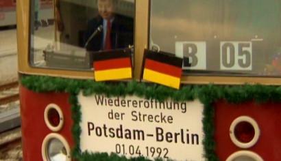 Szenenphoto: Berlin hin und zurück, Deutschland 1992. Berlin hin und zurück © DEFA-Stiftung, Jürgen Partzsch