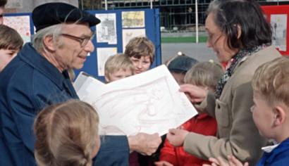Szenenphoto: Zeichner - Zeuge - Zeitgenosse, Deutsche Demokratische Republik (DDR) 1970, © DEFA-Stiftung, Manfred Schreyer
