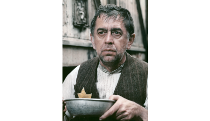 Szenenphoto: Jakob der Lügner, Deutsche Demokratische Republik (DDR) 1974. JAKOB DER LÜGNER Jakob © DEFA-Stiftung, Herbert Kroiss