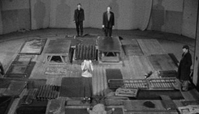 Szenenphoto: Theaterarbeit, Deutsche Demokratische Republik (DDR) 1975. Theaterarbeit © DEFA-Stiftung, Winfried Goldner