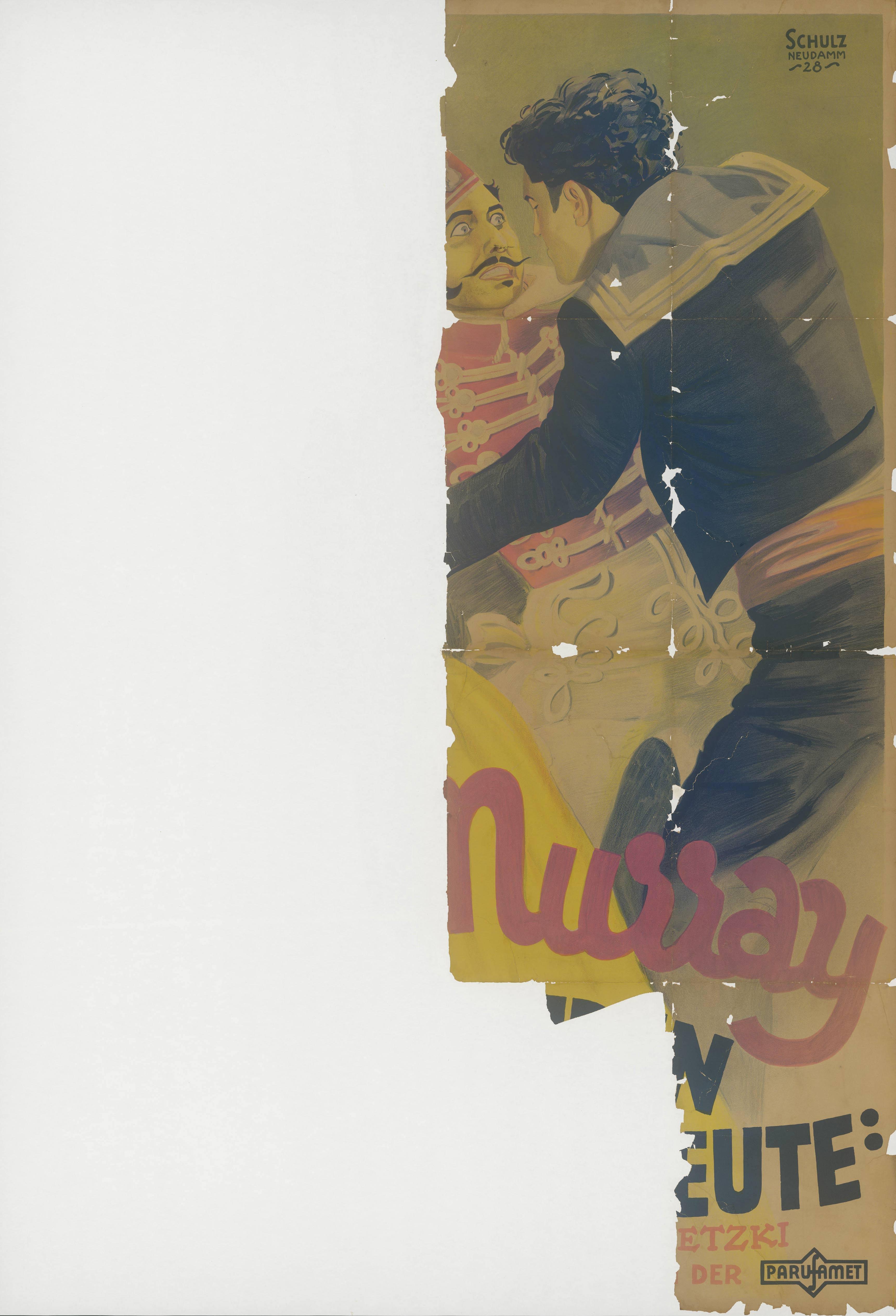 Filmplakat für Valencia, USA 1926
