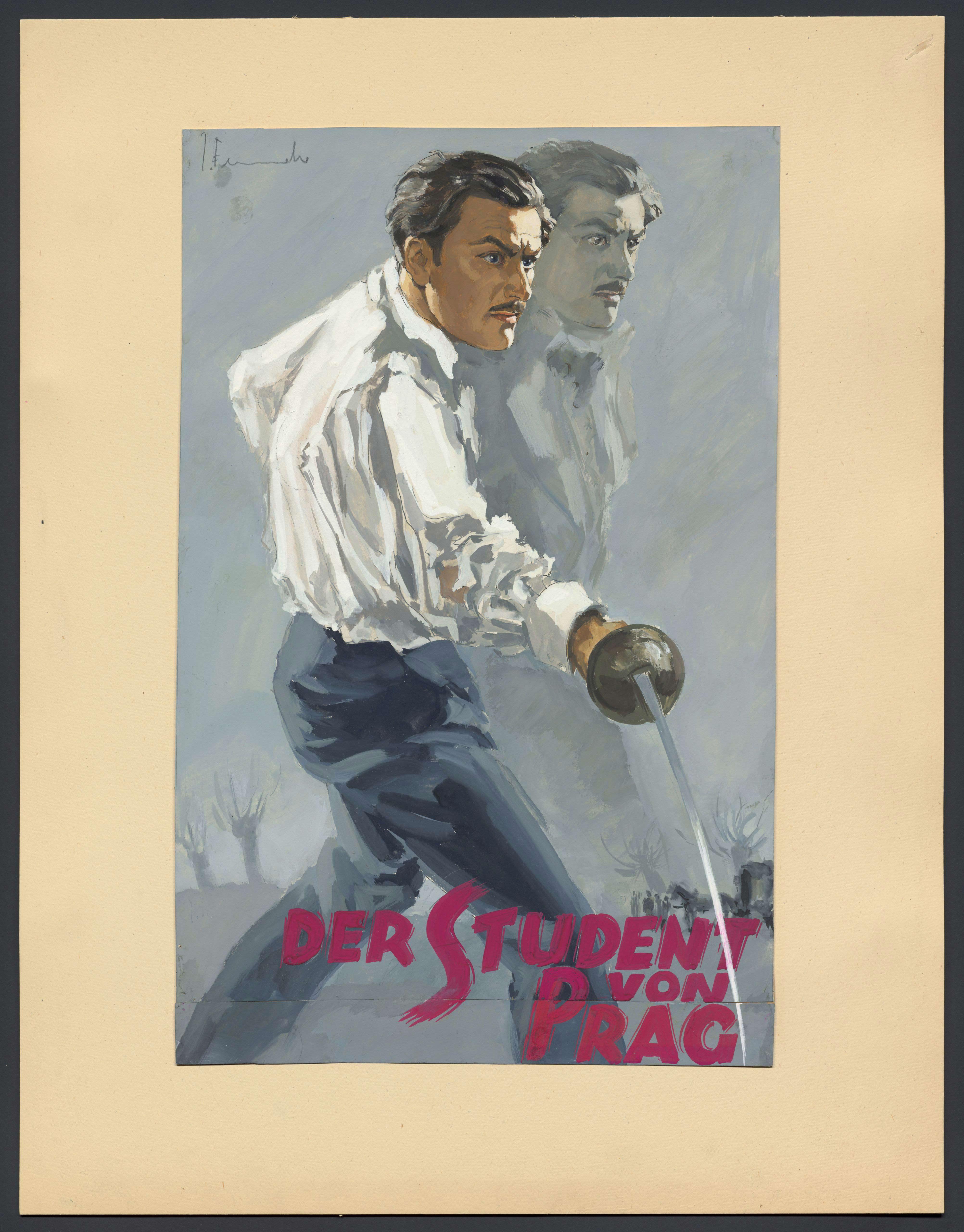 Design by Josef Fenneker: Der Student von Prag, Germany 1935, directed by Artur Robison