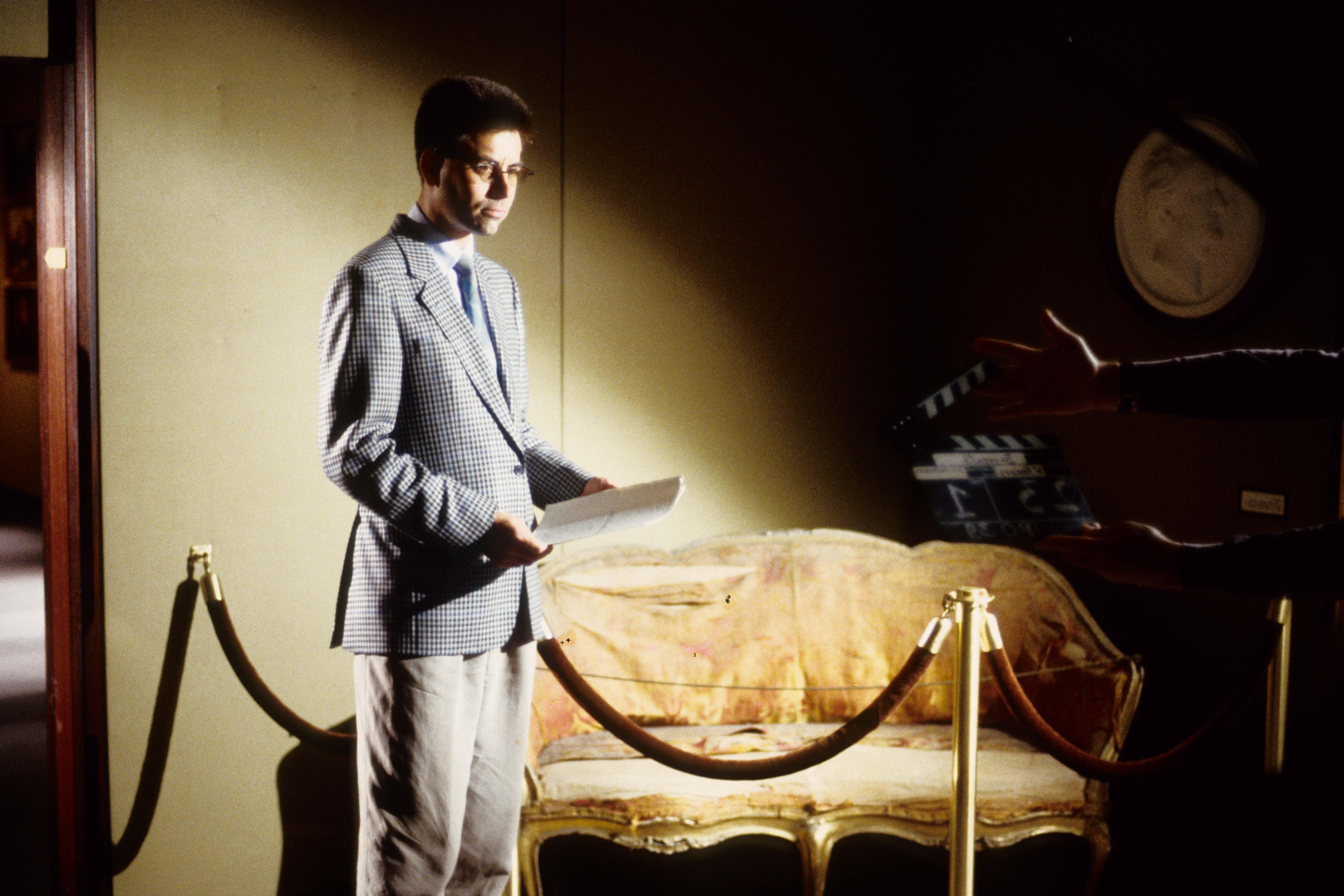 Werkfoto des Films Die Verwandlung der Welt in Musik – Bayreuth vor der Premiere
