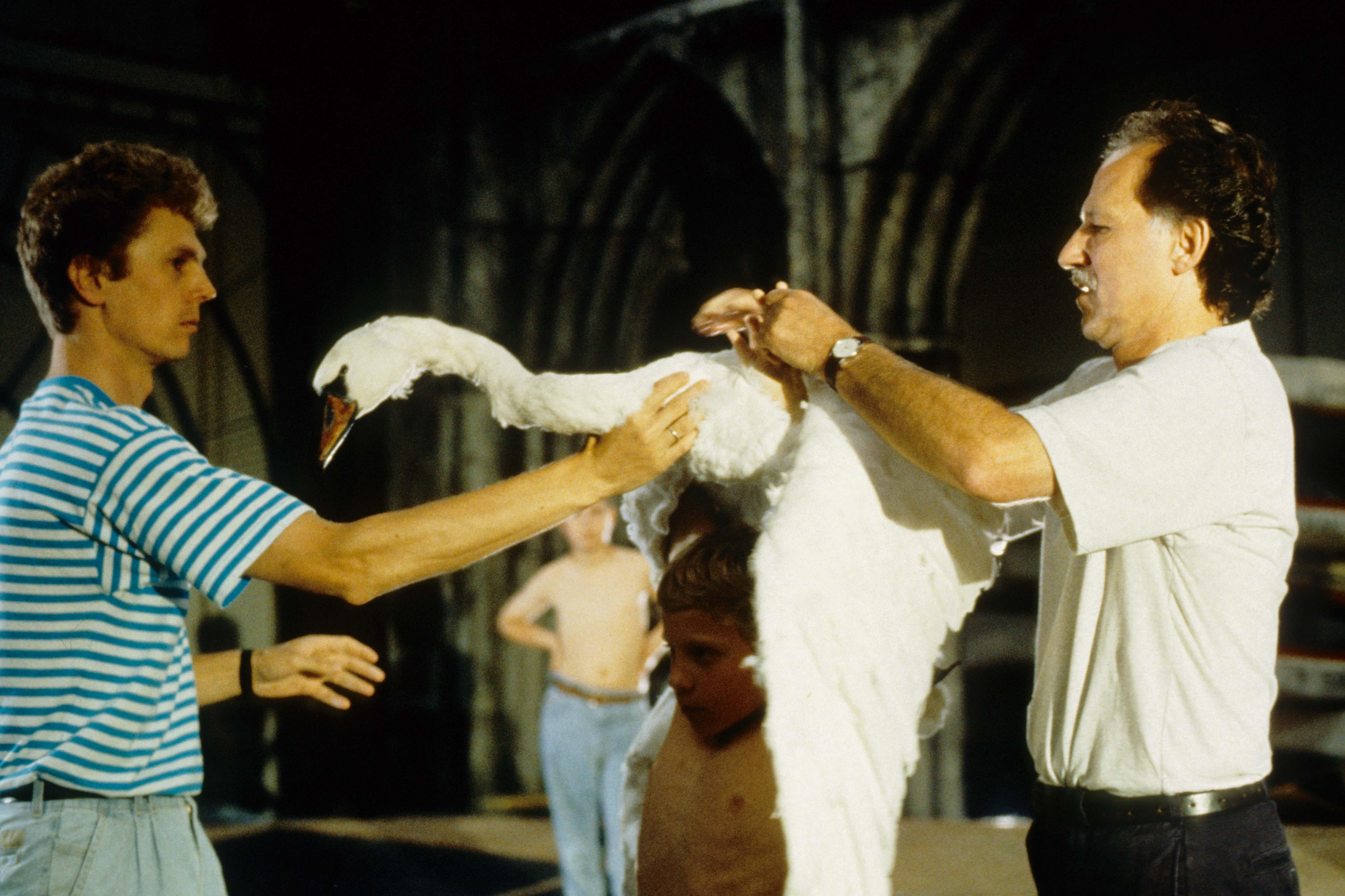 Szenenfoto aus dem Film Die Verwandlung der Welt in Musik – Bayreuth vor der Premiere