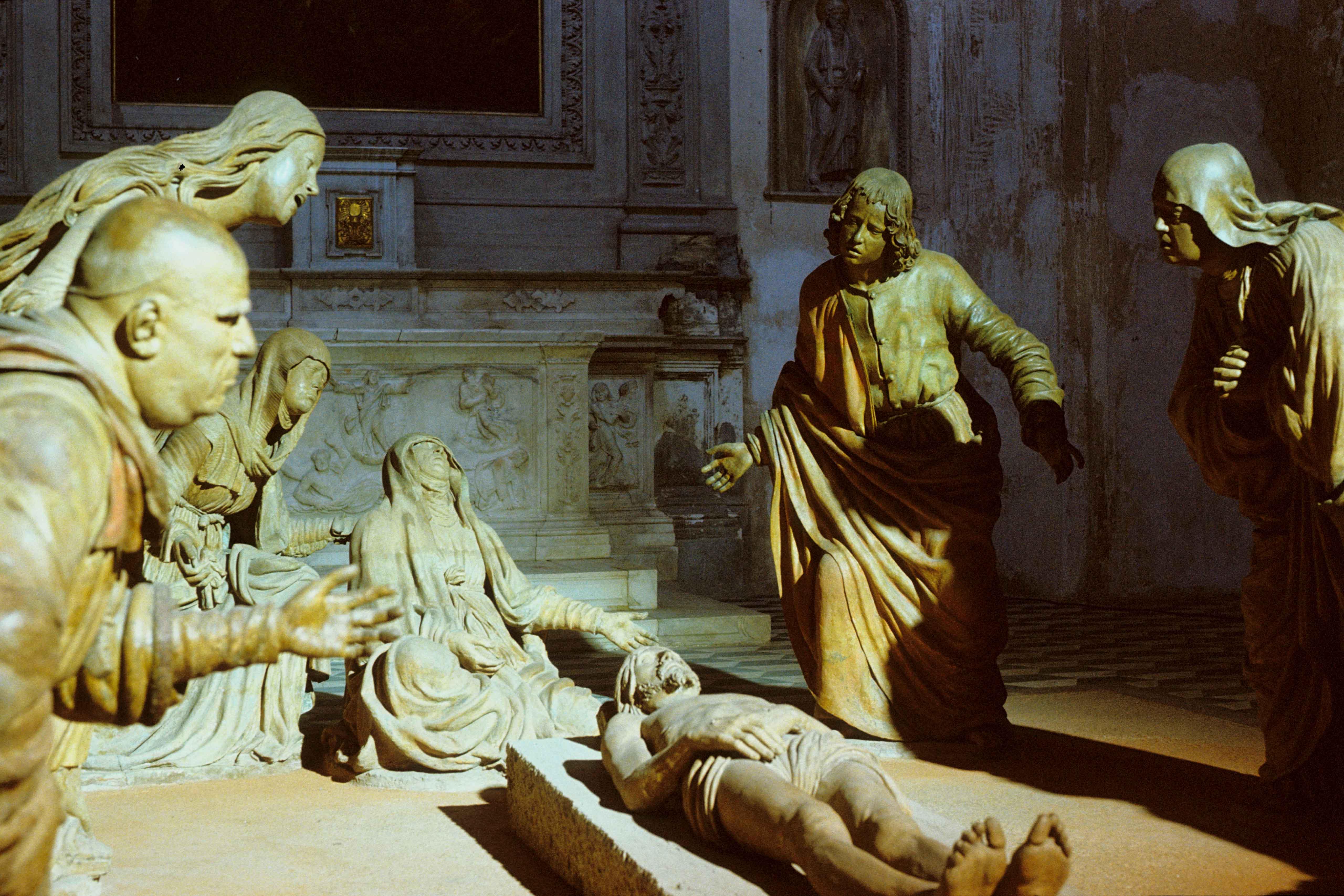 Still from the film Gesualdo – Tod für fünf Stimmen