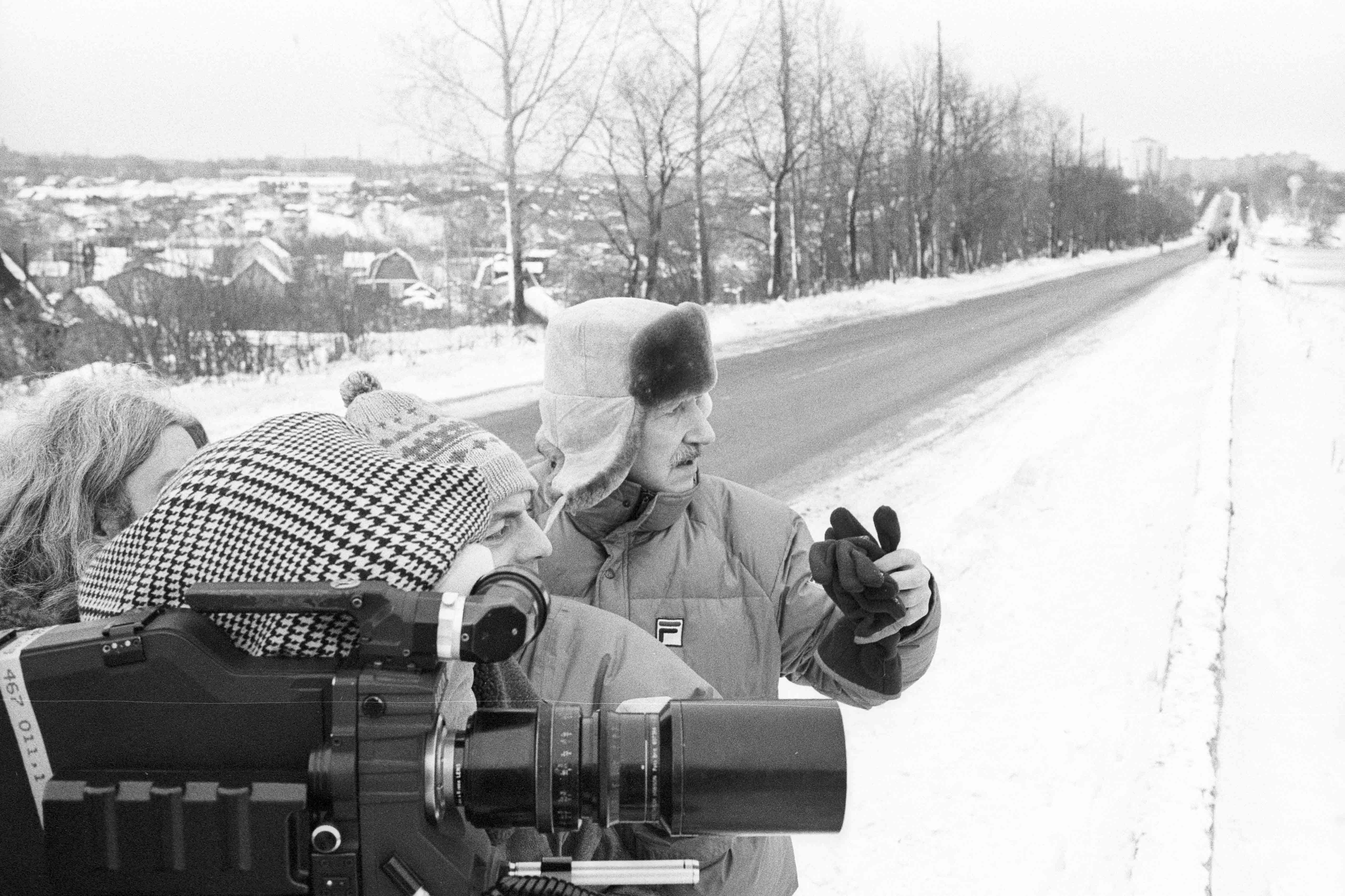 Behind the scenes of the film Glocken aus der Tiefe – Glaube und Aberglaube in Rußland