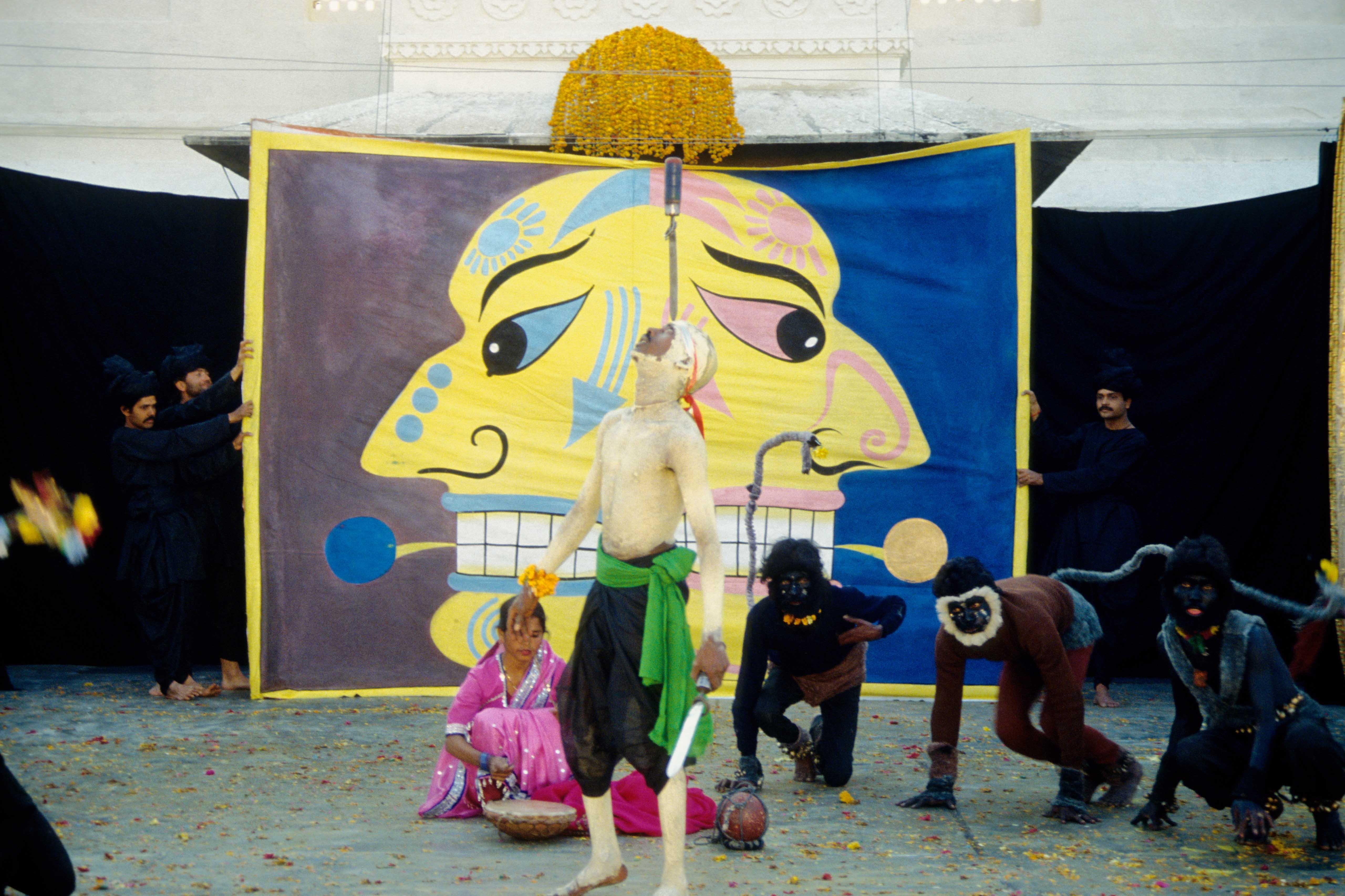 Szenenfoto aus dem Film Jag Mandir – Das exzentrische Privattheater des Maharadjah von Udaipur
