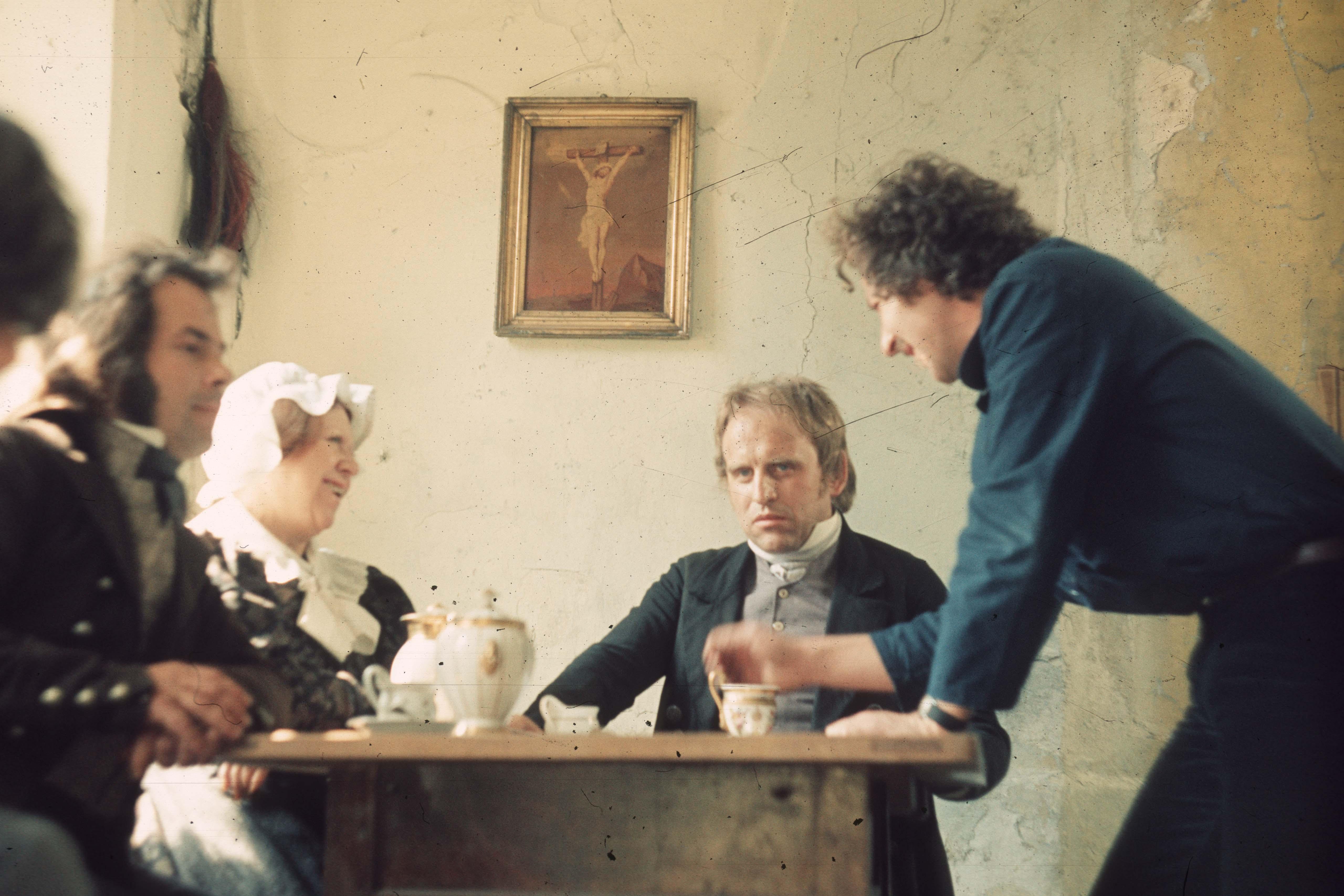 Behind the scenes of the film Jeder für sich und Gott gegen alle