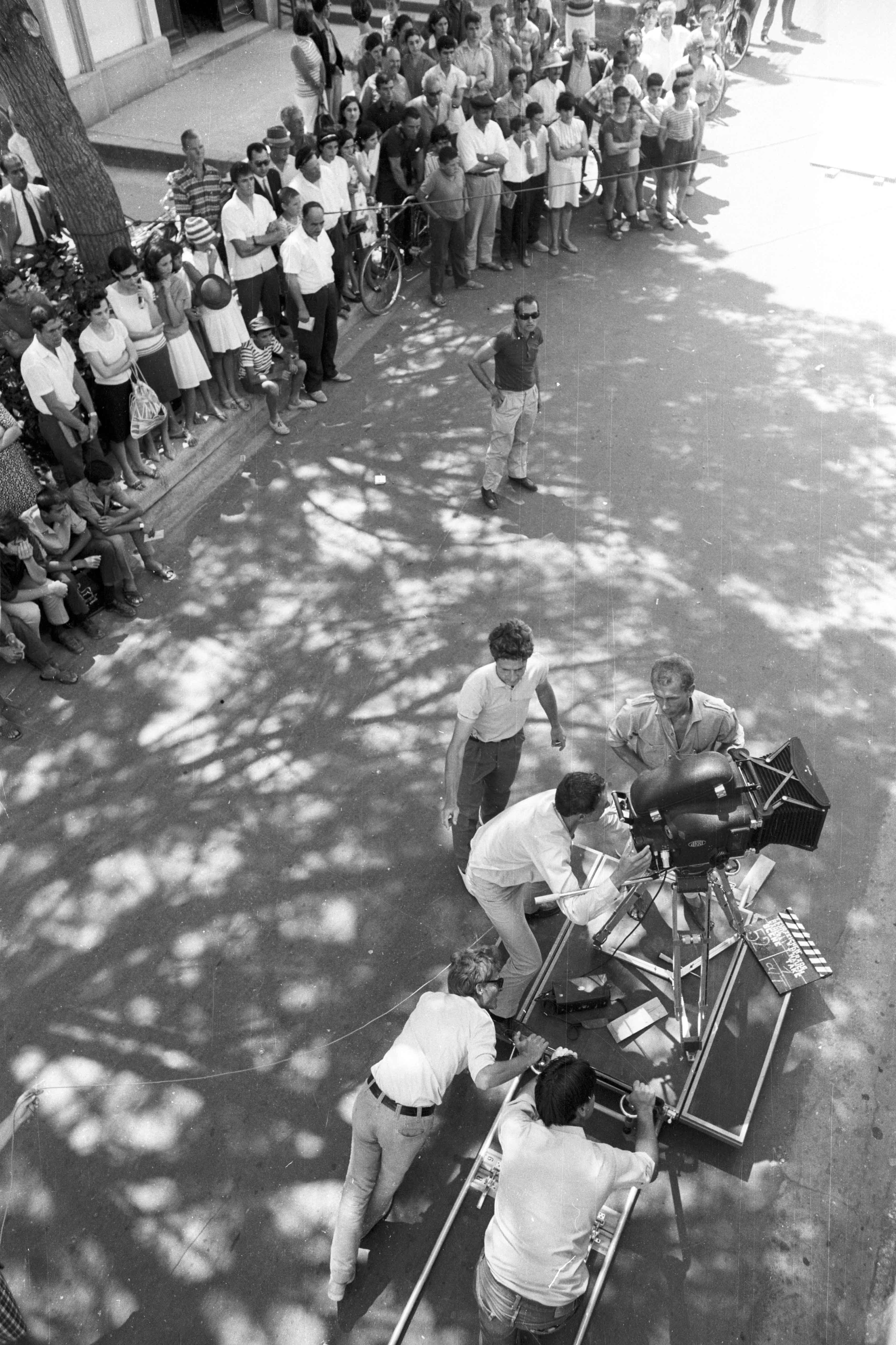Behind the scenes of the film Lebenszeichen
