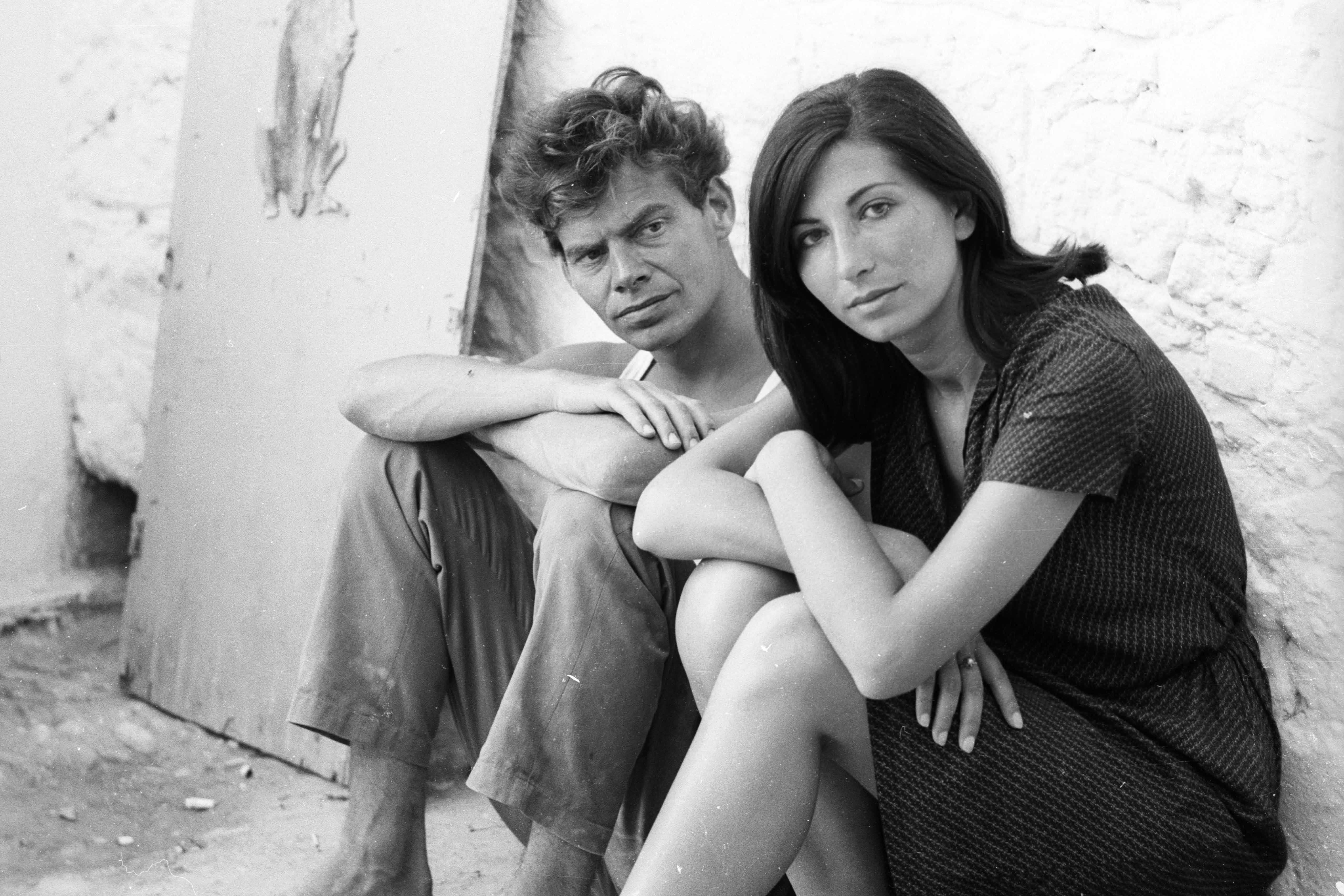 Character portrait of Peter Brogle and Athina Zacharpoulou in the film Lebenszeichen