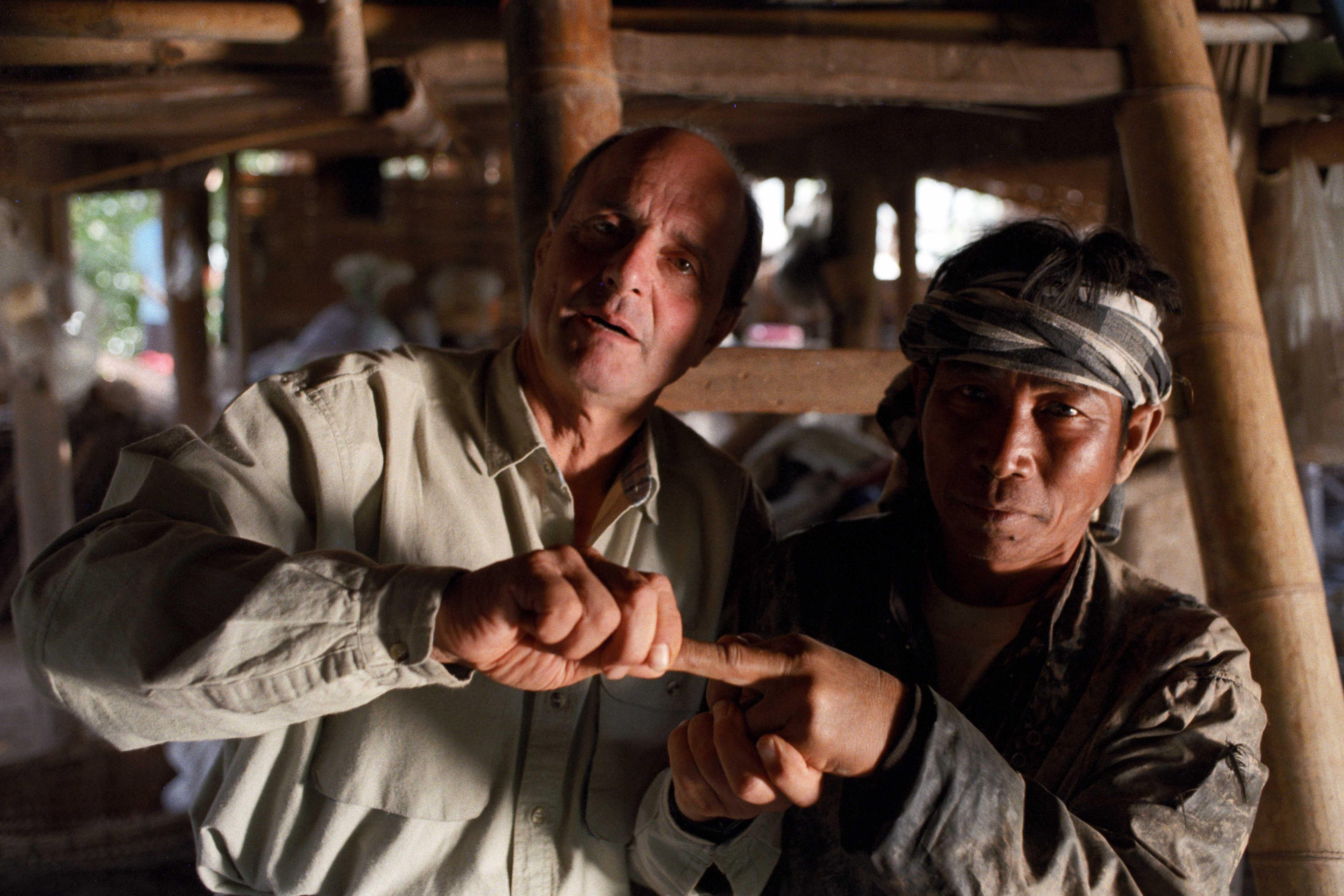 Still from the film Little Dieter Needs to Fly / Flucht aus Laos (Höllenfahrten, Episode 1)