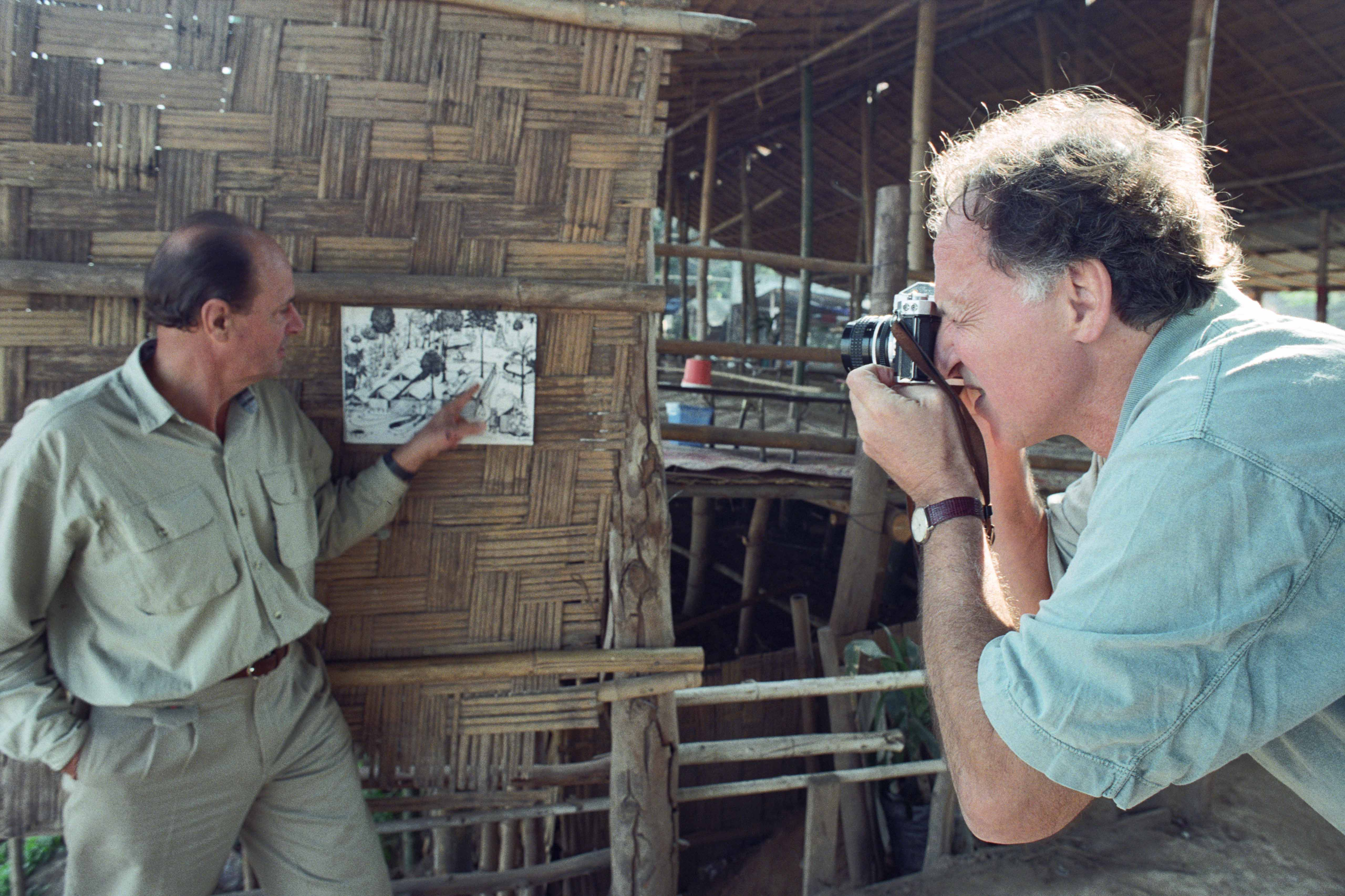 Behind the scenes of the film Little Dieter Needs to Fly / Flucht aus Laos (Höllenfahrten, Episode 1)