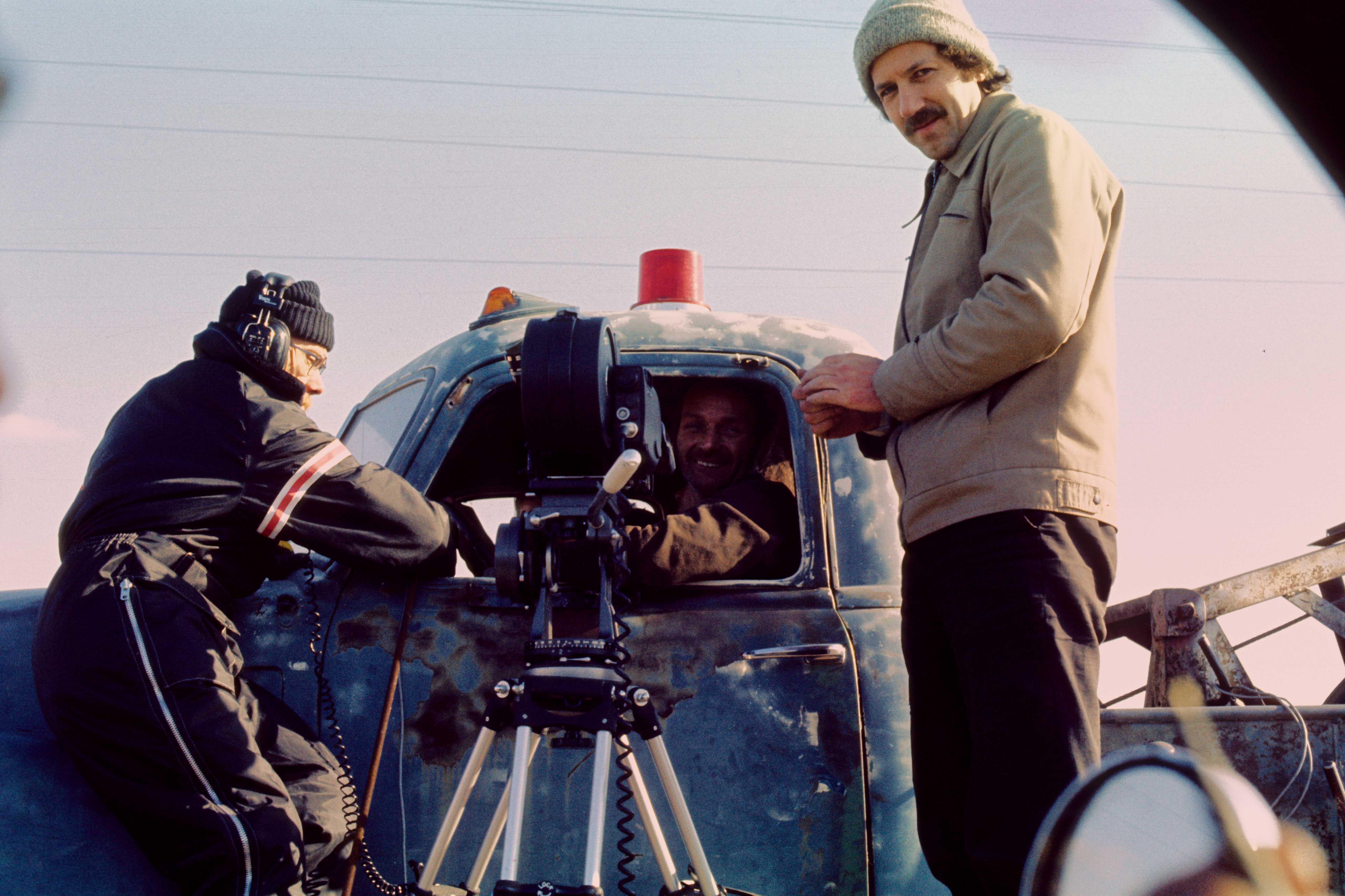 Behind the scenes of the film Stroszek