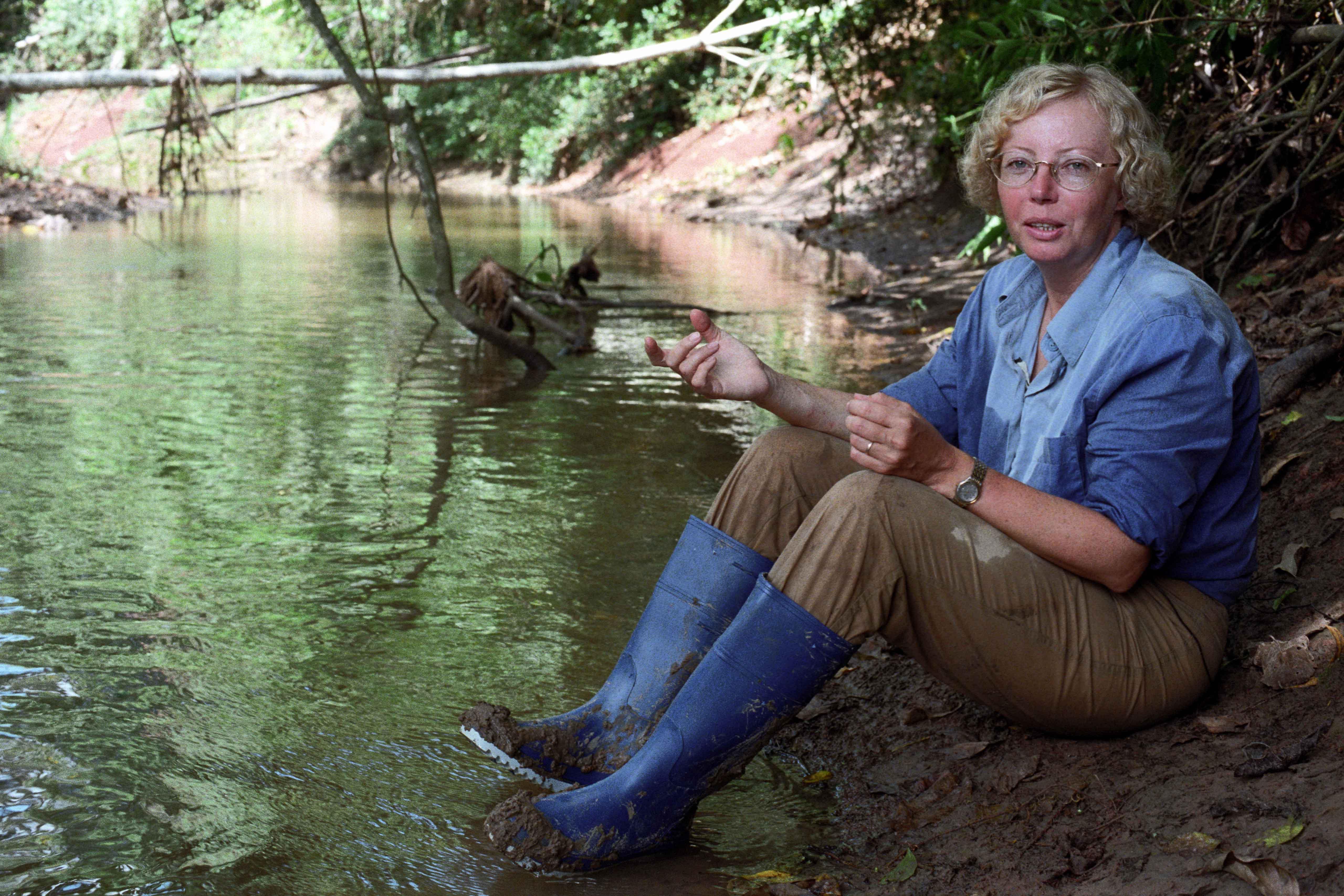 Szenenfoto aus dem Film Julianes Sturz in den Dschungel