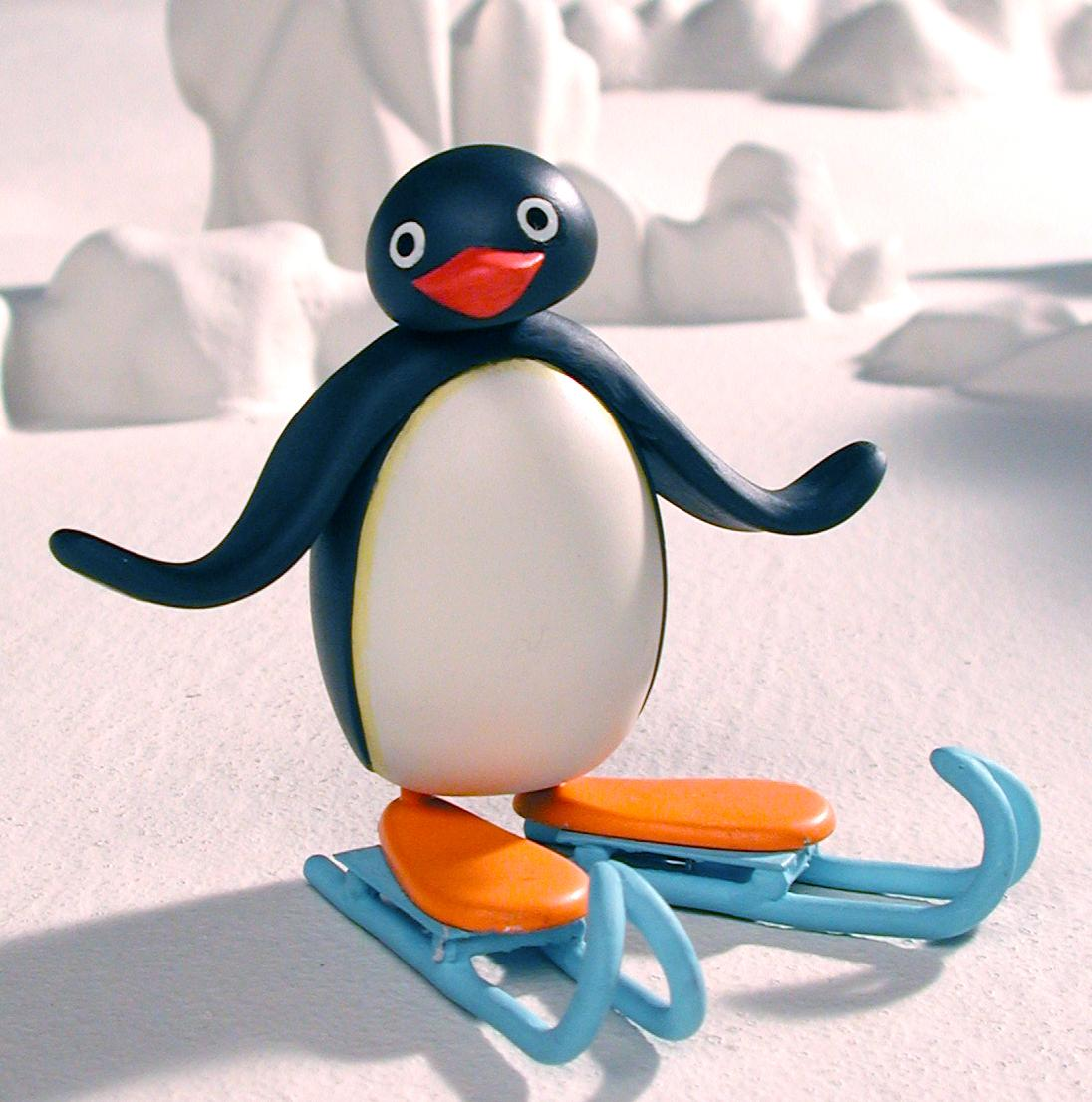 Still from the claymation children's series Pingu (Switzerland 1990-2000, United Kingdom 2003-2006)