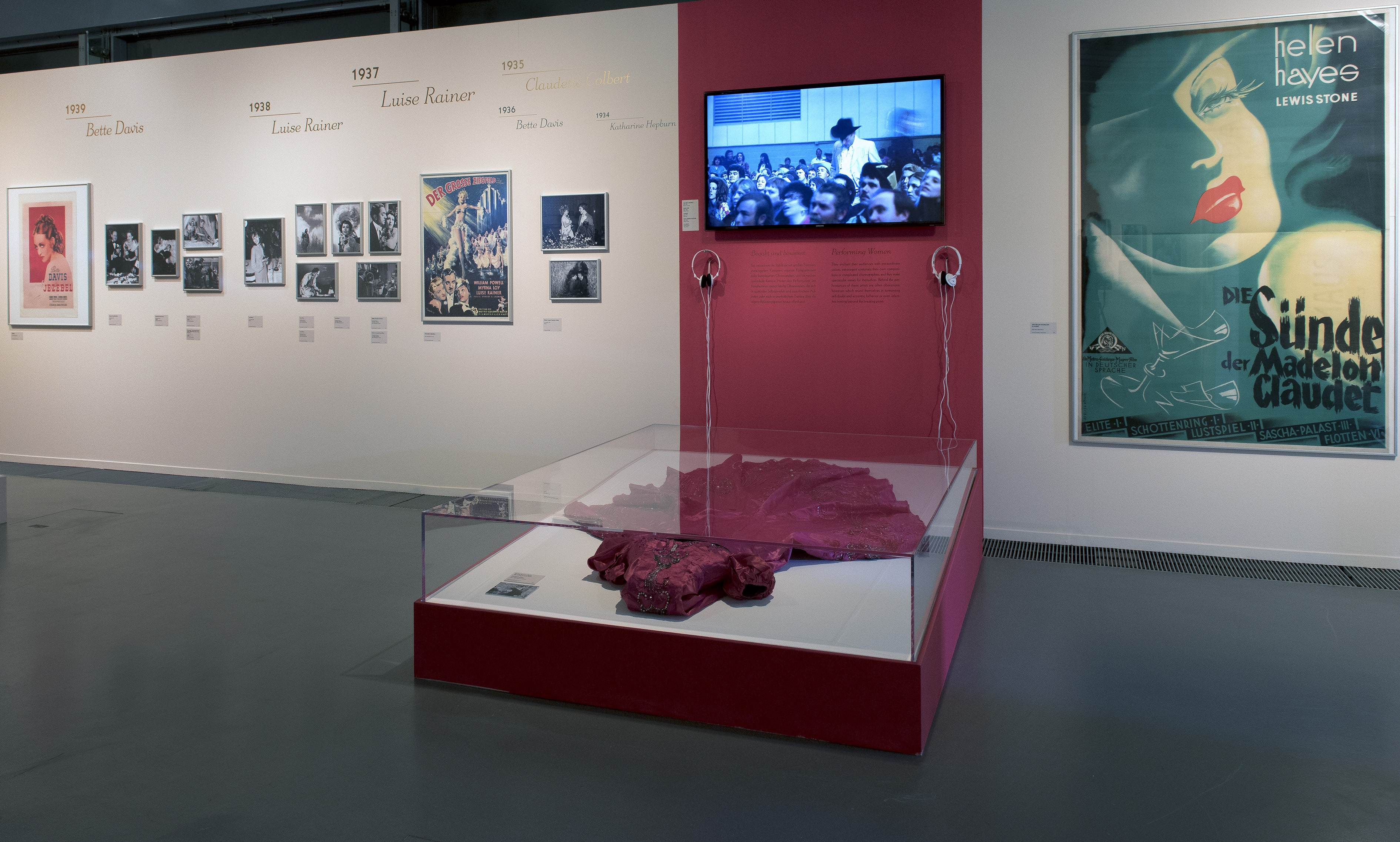 "View of the exhibition ""Best Actress – Oscars®, Roles and Images"", Deutsche Kinemathek, Berlin"