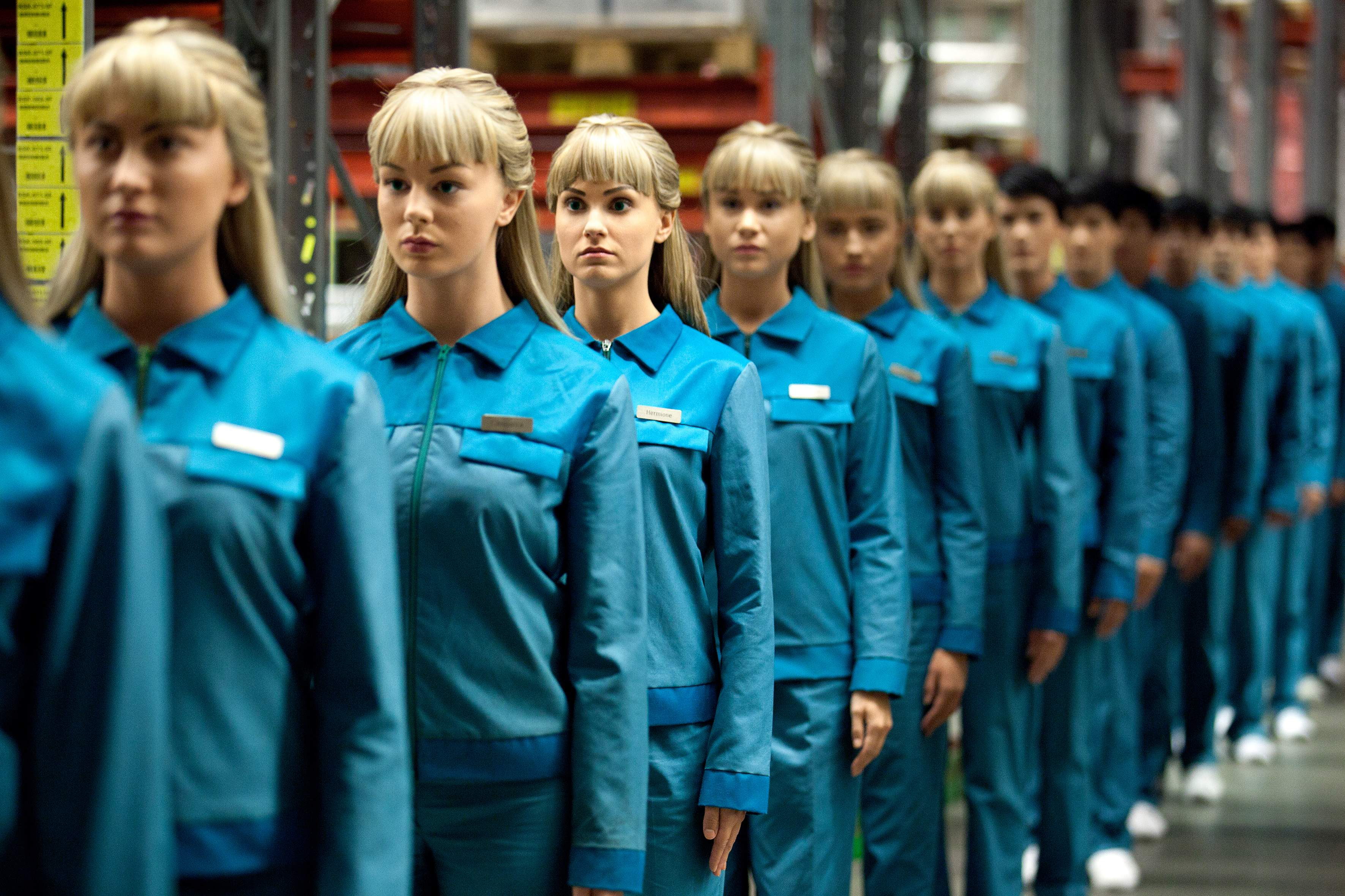 Production photo from the TV series Real Humans (Sweden 2012-2014)