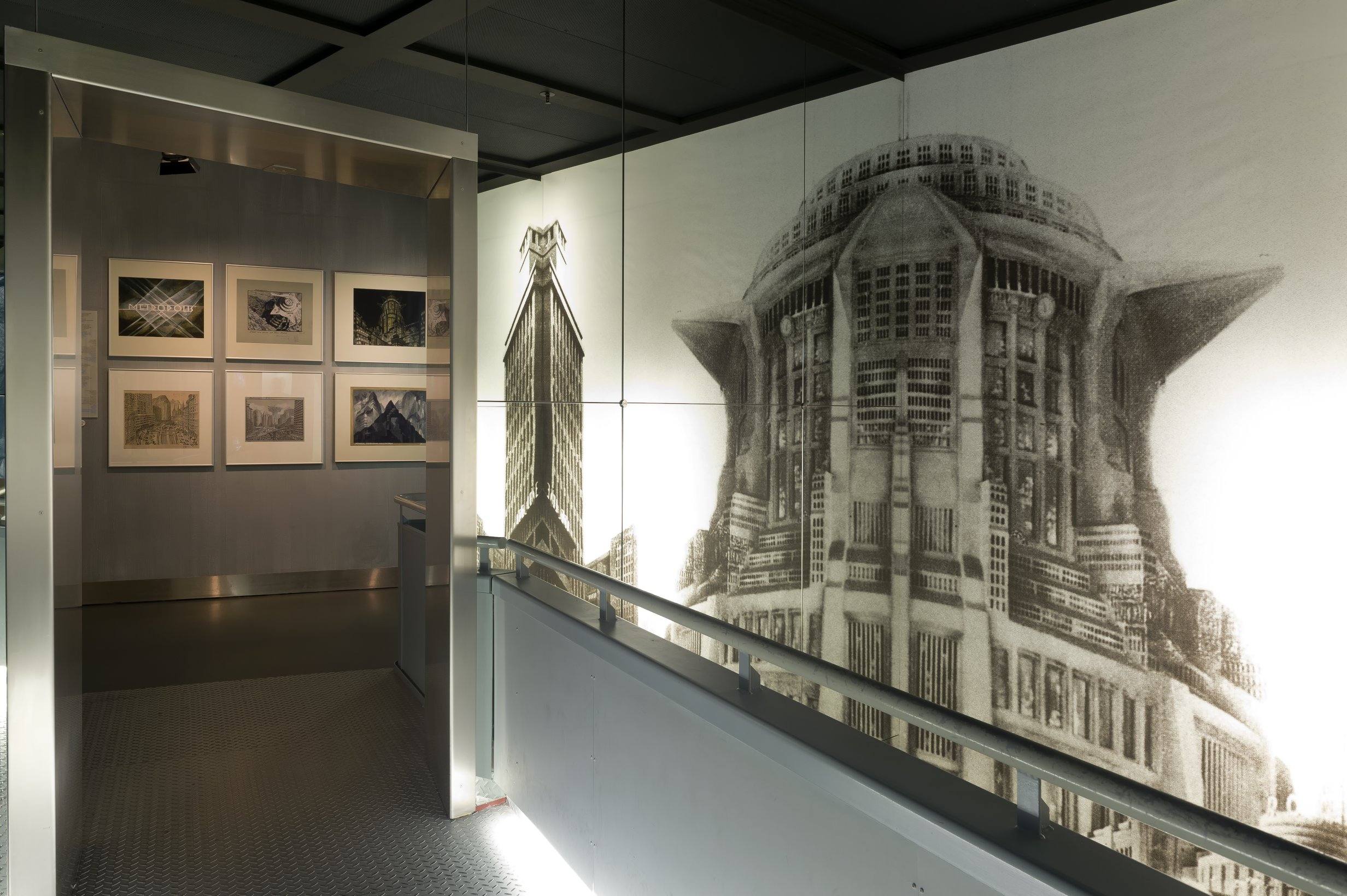 Part of the exhibtion about the film Metropolis