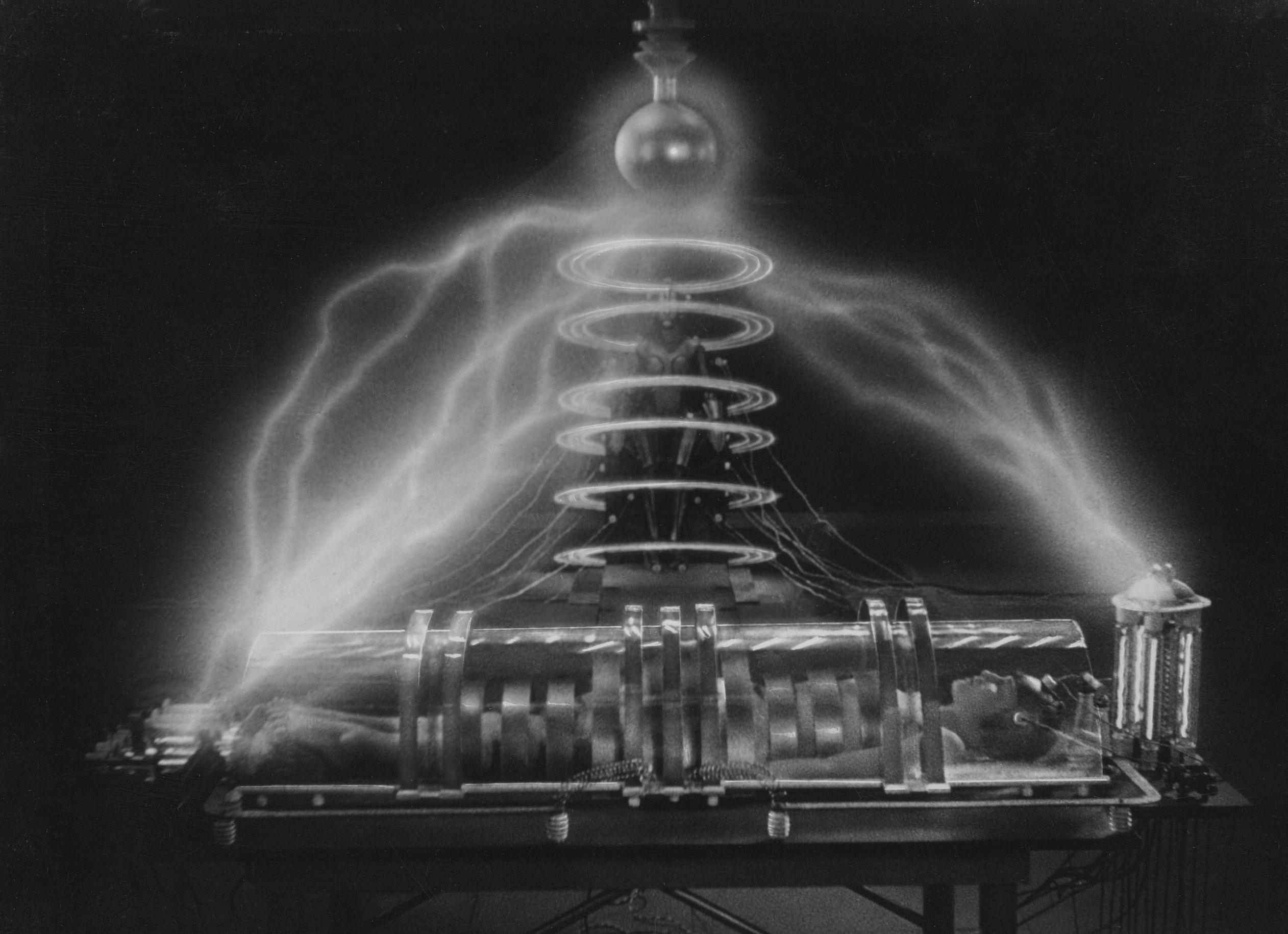 Szenenfoto aus dem Film Metropolis, Deutschland 1927 von Fritz Lang