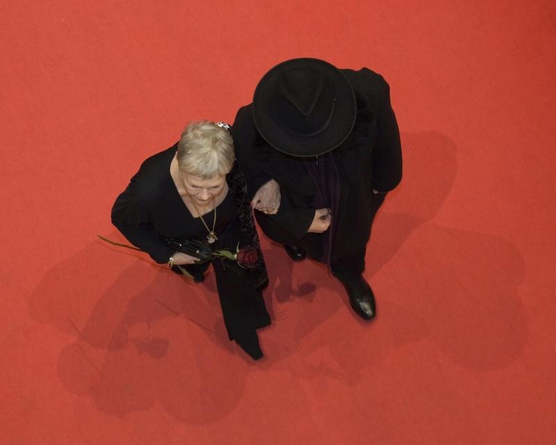 Judi Dench and Berlinale-Director Dieter Kosslick, 2007