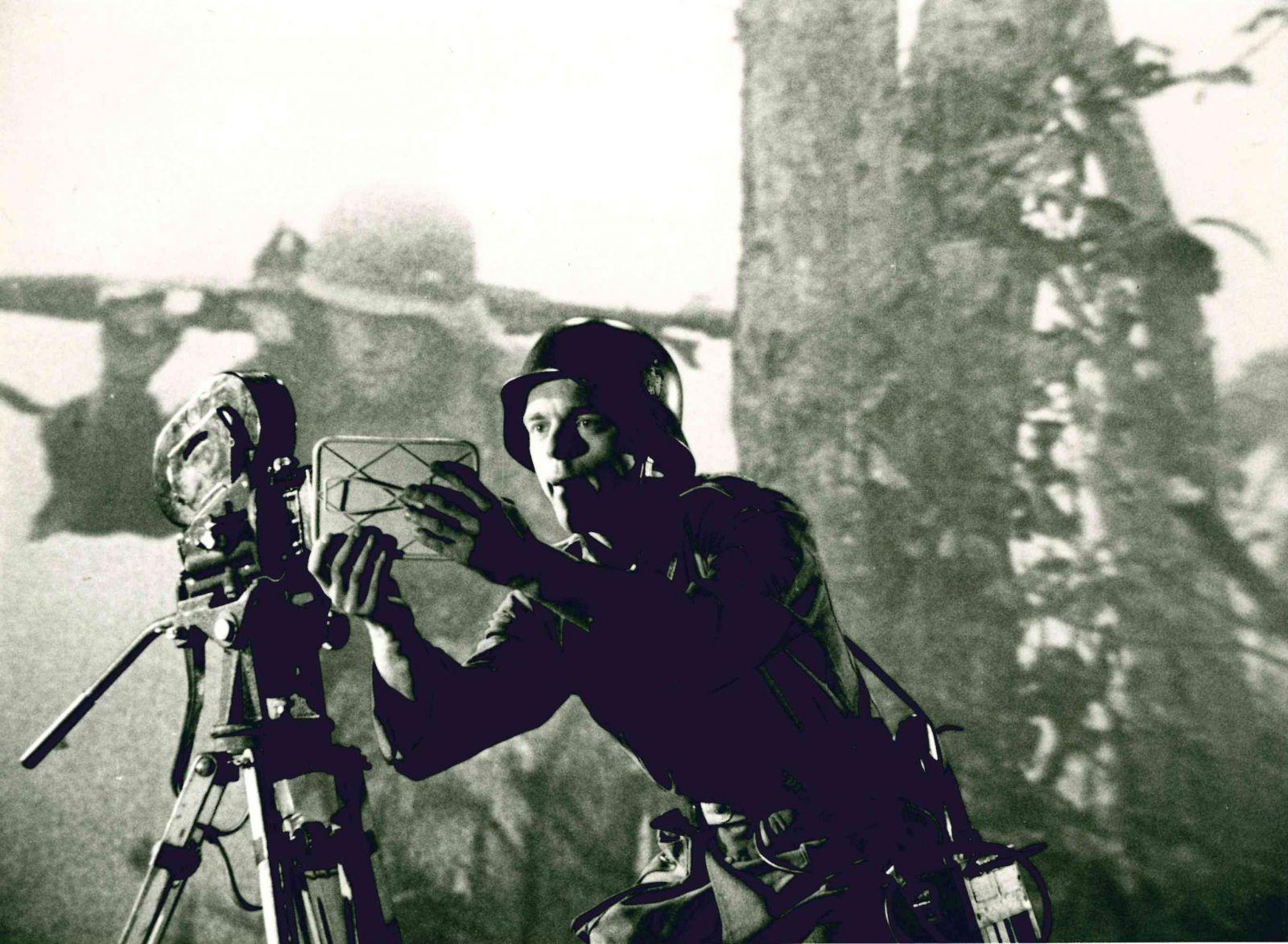 Szenenfoto aus dem Film Die Achse