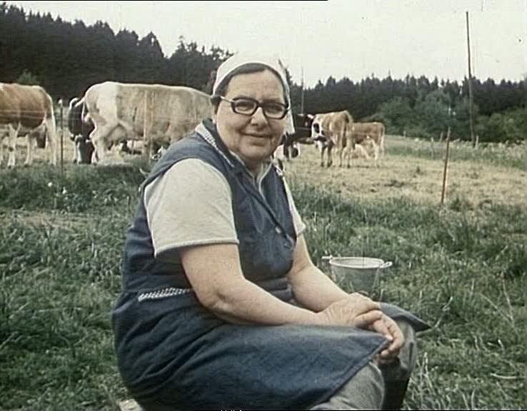Szenenfoto aus dem Film Hütes-Film, DDR 1978, Regie: Volker Koepp