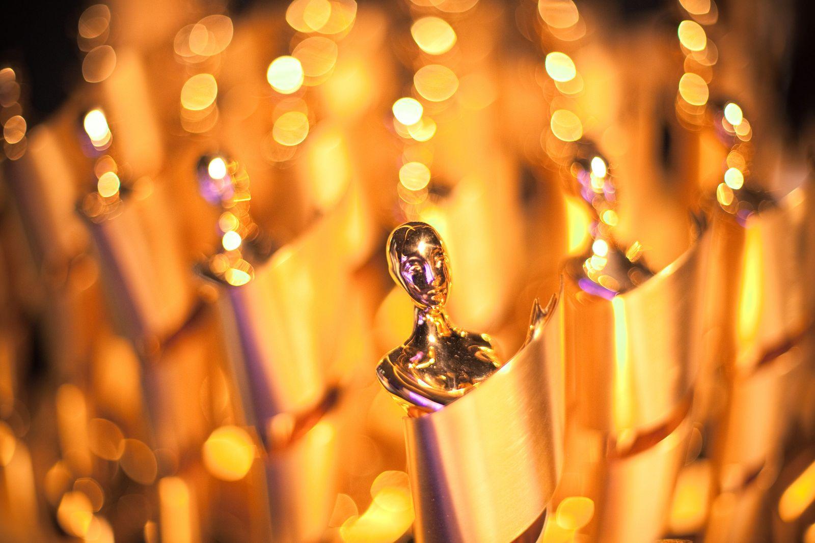 Foto des Deutschen Filmpreises, der Lola-Statuette