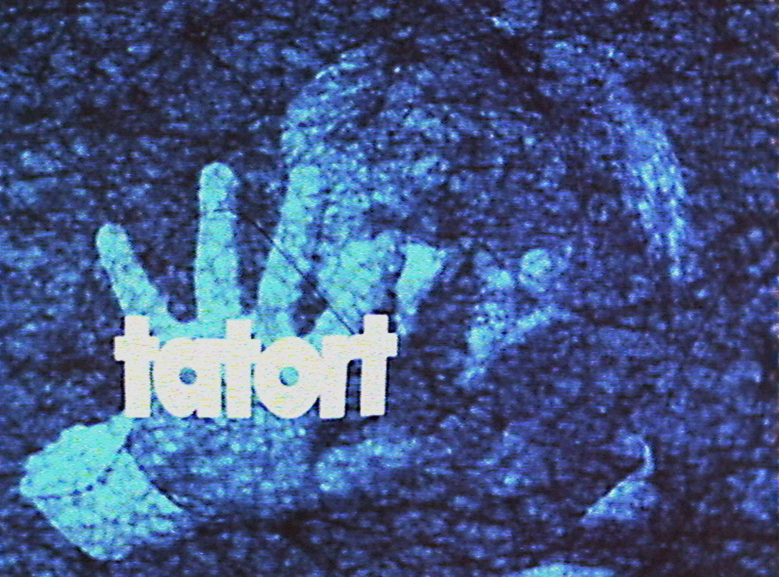 Production photo from the opening credits of the TV series Tatort (G since 1970)