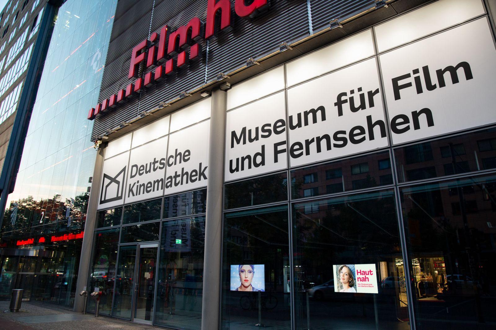 Außenansicht Deutsche Kinemathek – Museum für Film und Fernsehen