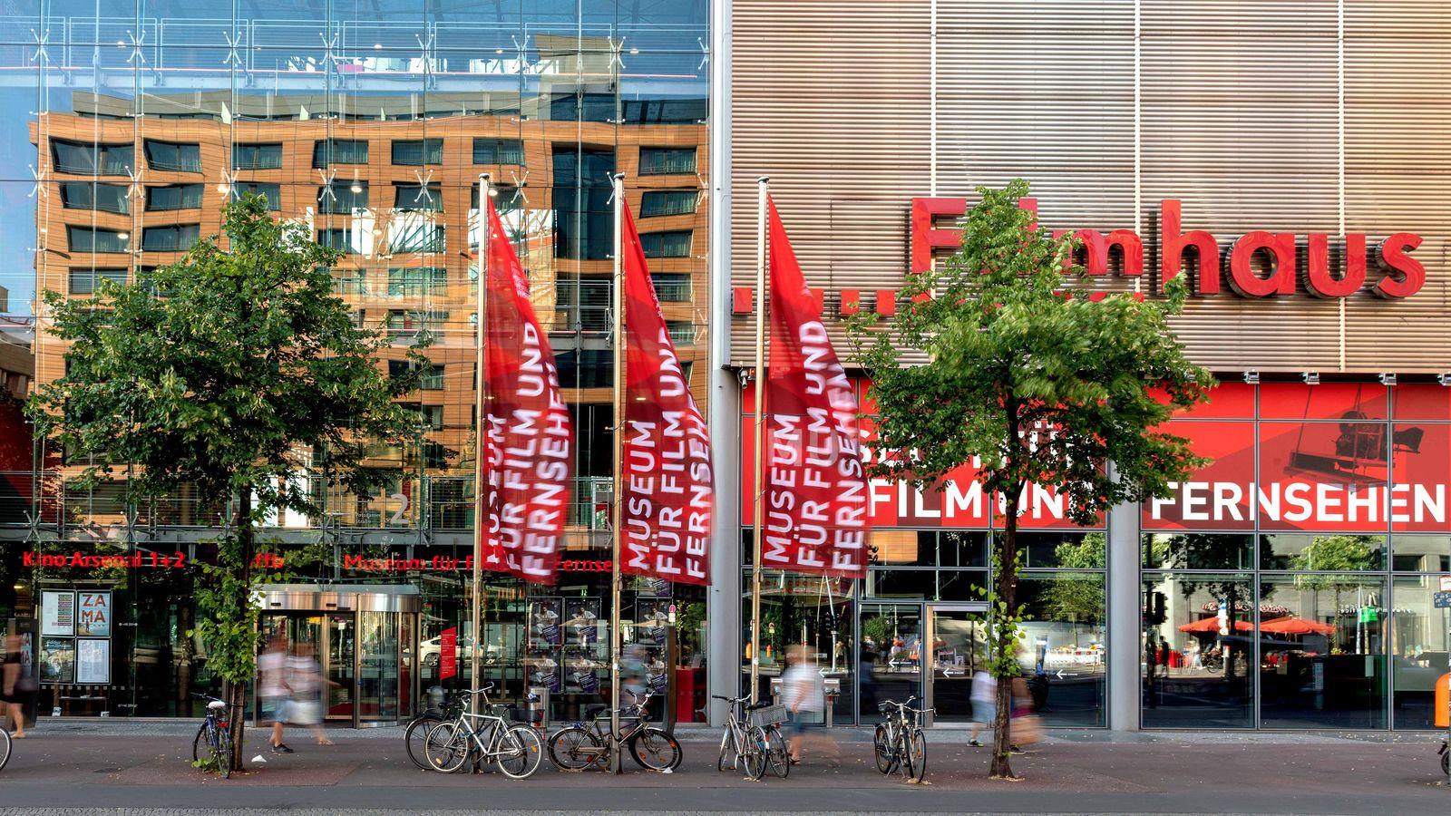Außenansicht des Museums für Film und Fernsehen, Berlin
