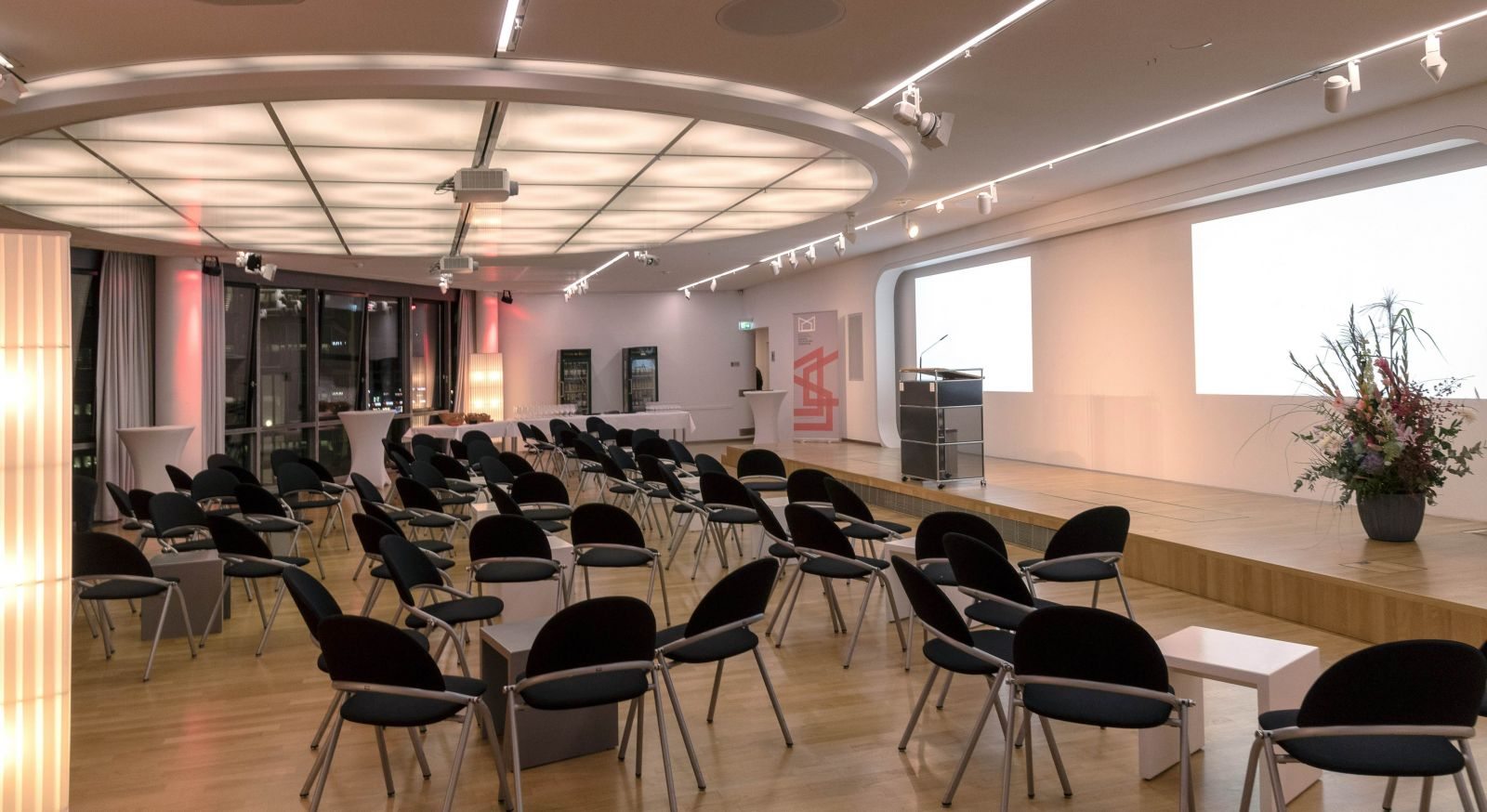 The event room of the Deutsche Kinemathek