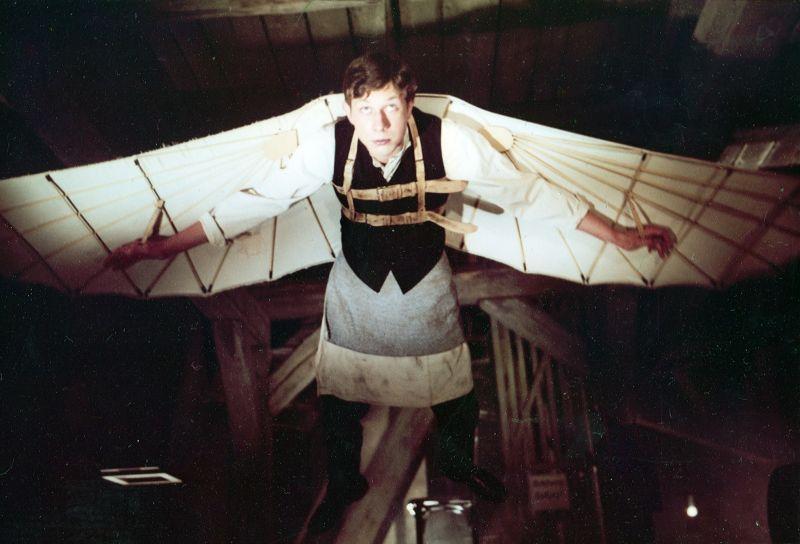 Szenenfoto aus dem Film Das Luftschiff (Deutsche Demokratische Republik 1983, Regie: Rainer Simon)