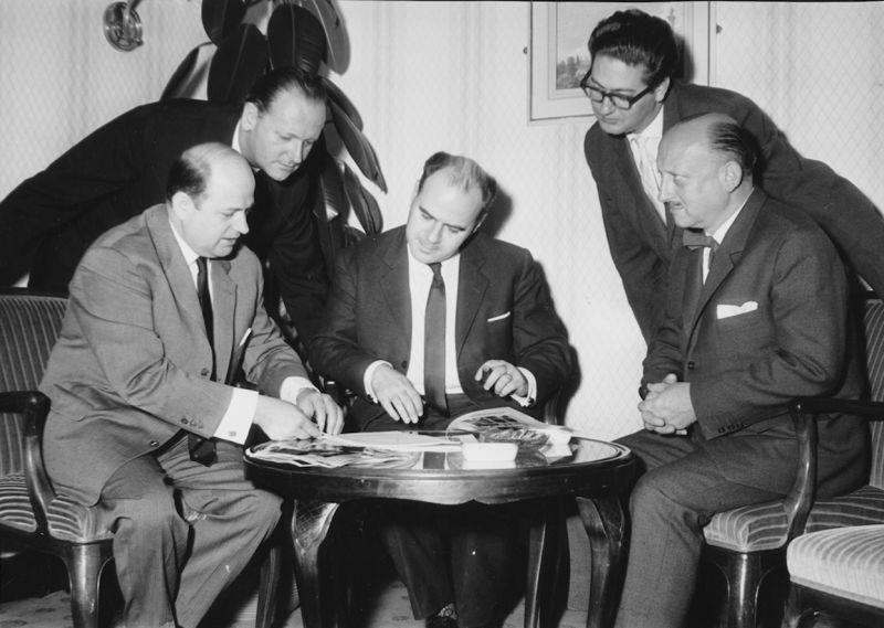 Szenenfoto aus dem Film Eichmann und das Dritte Reich