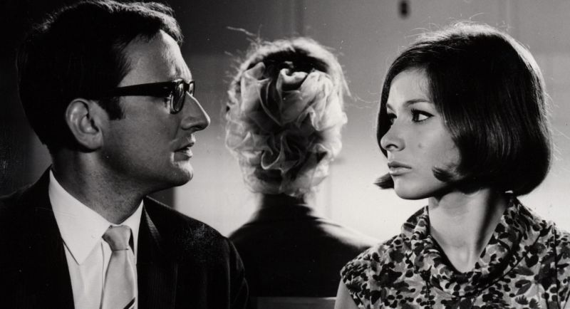 Szenenfoto aus dem Film Wir lassen uns scheiden, DDR 1968, Regie: Siegfried Kühn