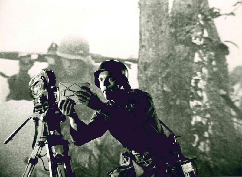 Szenenfoto aus dem Film Die Achse, BRD 1984, Regie: Thomas Mauch