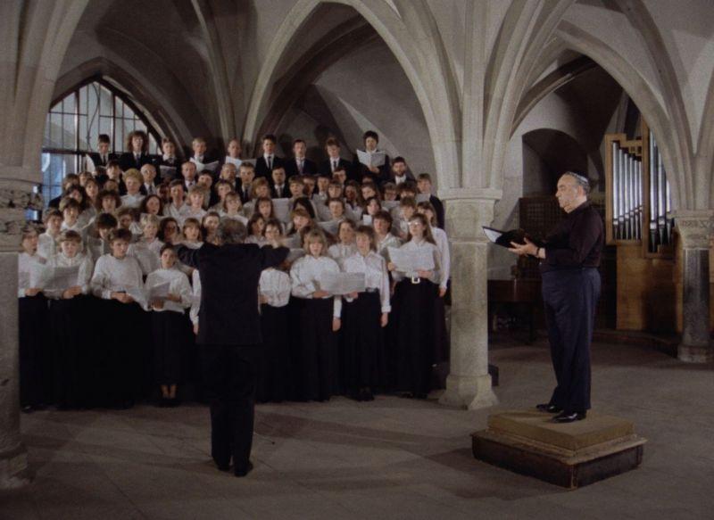 Szenenfoto aus dem Film Das Singen im Dom zu Magdeburg