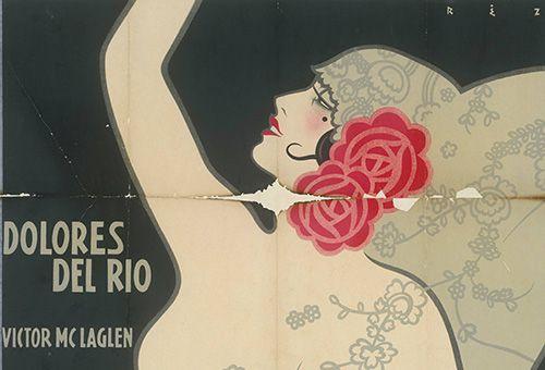 Plakatmotiv von <i>Loves of Carmen</i> (Die Liebe vom Zigeuner stammt)