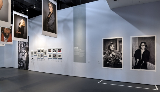 Insight in the exhibition Between the Films – A Photo History of the Berlinale