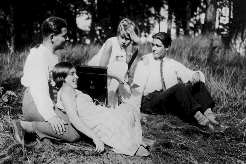 Szene aus dem Film Menschen am Sonntag (D 1930, Rgeie: Robert Sidomak)
