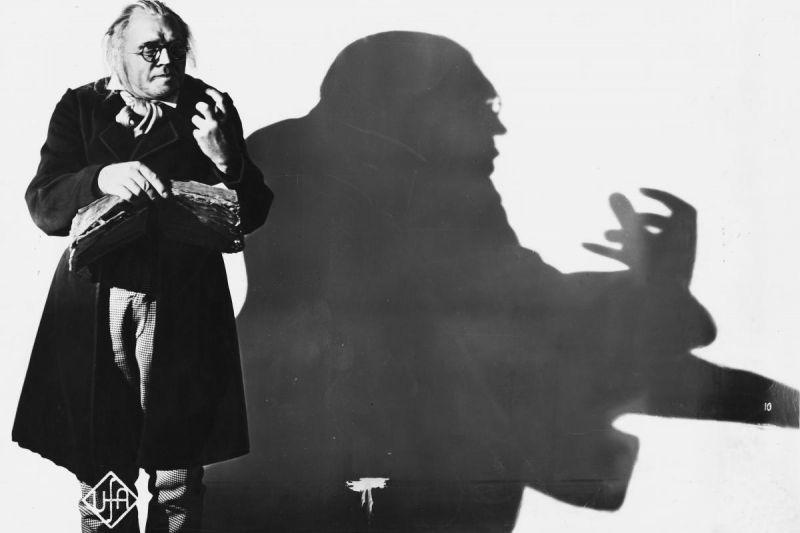 Werner Krauß in DAS CABINET DES DR. CALIGARI (D 1920, Regie: Robert Wiene), Quelle: Deutsche Kinemathek