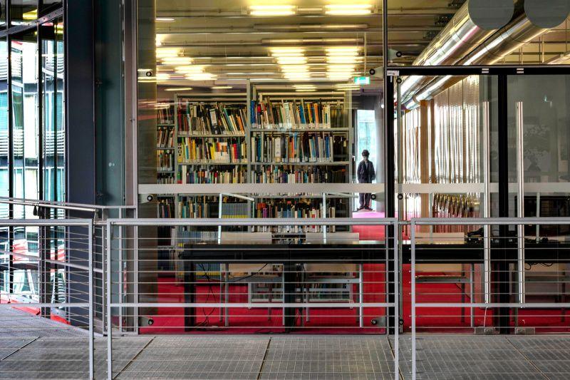 Bibliothek der Deutschen Kinemathek in Berlin, Foto/©: Marian Stefanowski