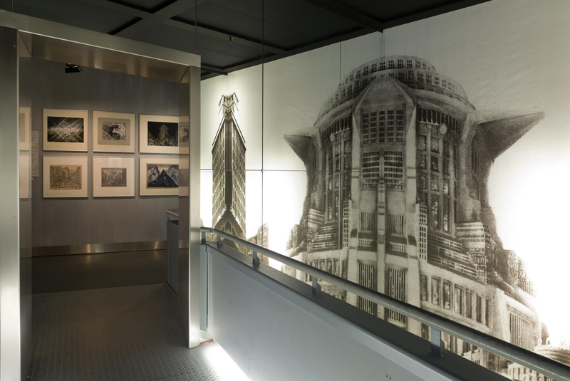 "Insight in the permanent exhibition ""Metropolis"""