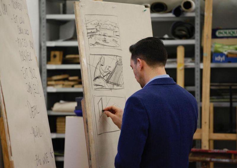 Storyboard Artist Kurt van der Basch