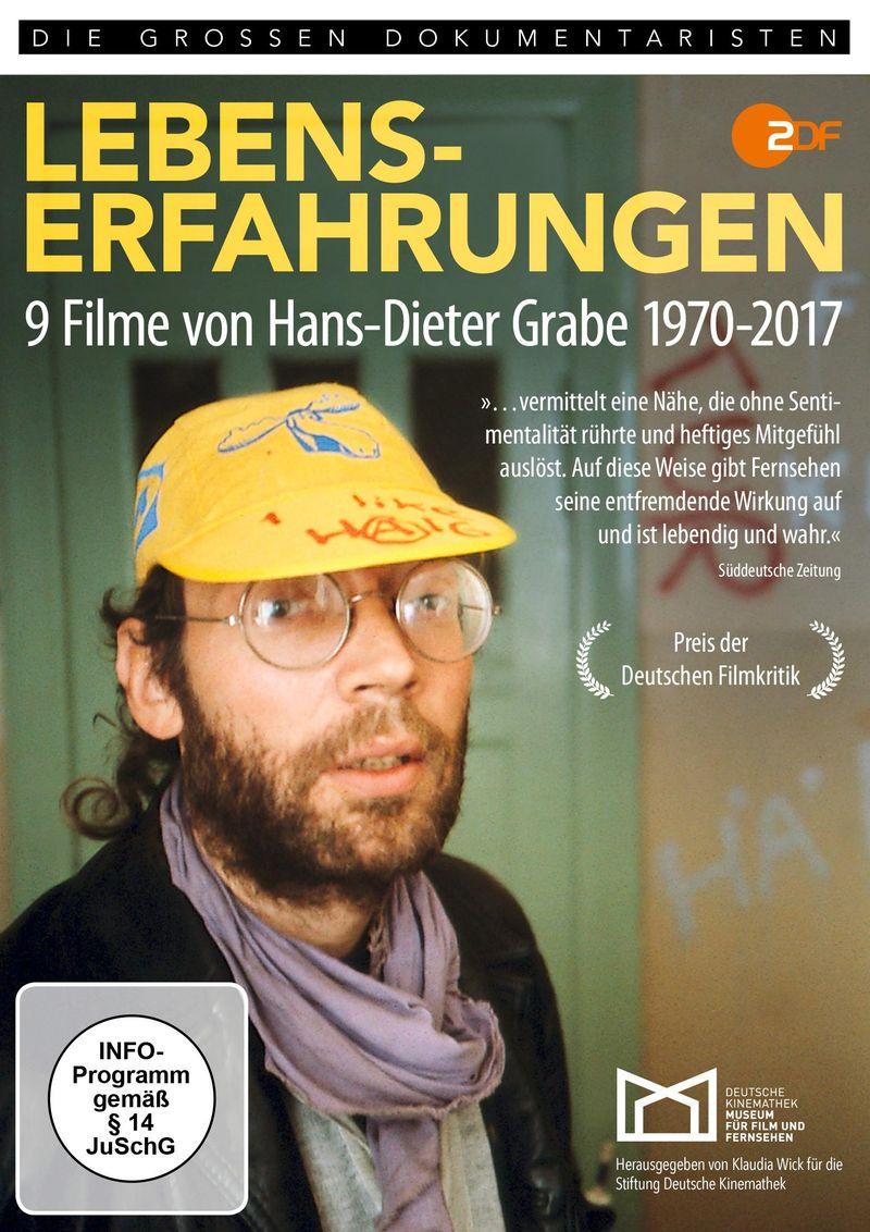 """Cover der DVD """"Lebenserfahrungen – 9 Filme von Hans-Dieter Grabe 1970–2017"""""""
