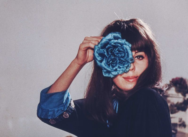 May Spils in dem Film Das Portrait, BRD 1966, Regie: May Spils