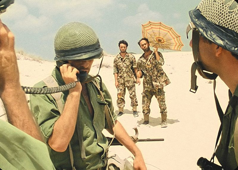 Szenenfoto aus dem Film Avanti Popolo, Israel 1986, Regie: Rafi Bukaee