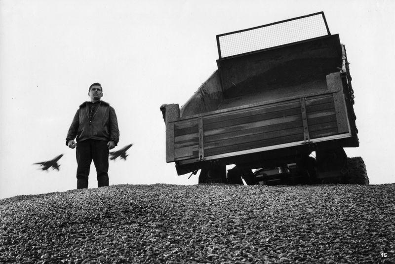 Szenenfoto aus dem Film Schwarzer Kies, BRD 1961, Regie: Helmut Käutner