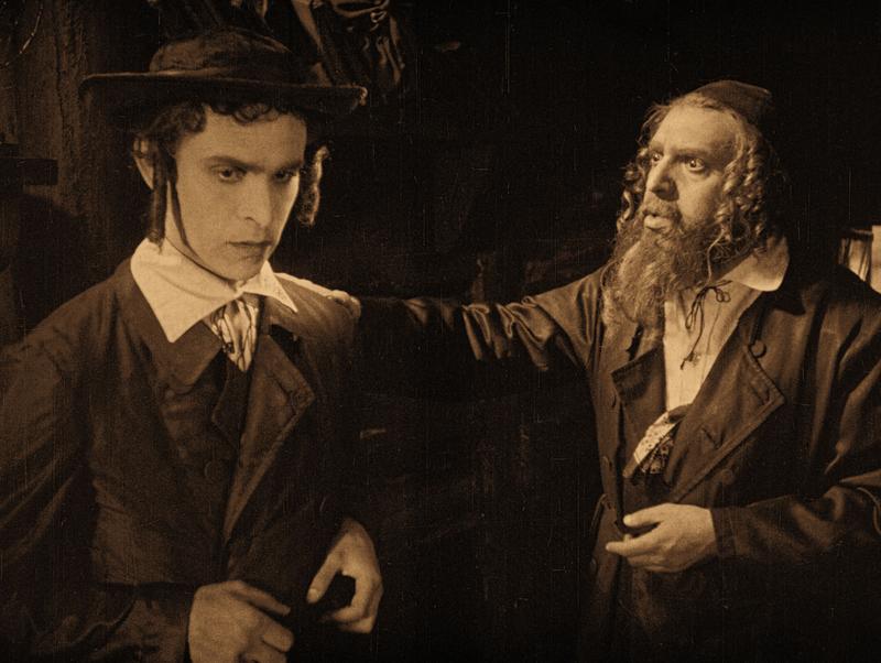 Ernst Deutsch und Avrom Morewsky in Das alte Gesetz, Deutschland 1923, Regie: Ewald André Dupont